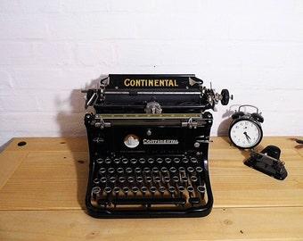 "Vintage - old german typewriter ""Continental"""
