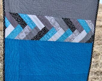 French Braid Quilt Baby Crib Quilt