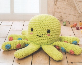 DMC 15380L/2 Octopus Amigurumi Crochet Pattern
