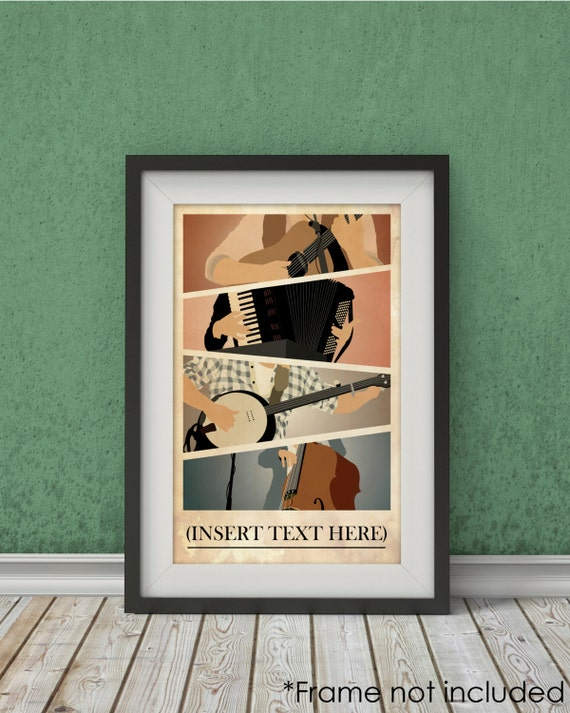 Mumford And Sons Inspired Poster Music By Theartichokedesigns