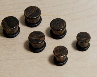 Ear Plugs - Bocote 7/16,00g,0g,1g,2g