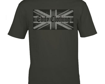 Graphic tshirt- union jack shirt, mens gift, mens graphic tees, designer clothing, tee shirts, cool tshirts, branded clothing, gift for men