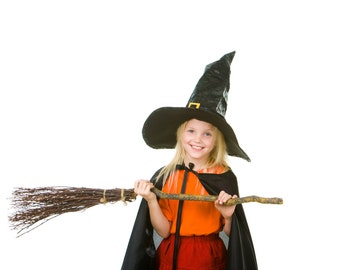 Kids Costume Witch Broom. Broom Making kit DIY order by oct 26 and get it before Halloween