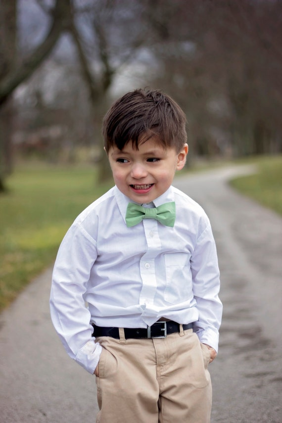 Boy's Swirl Gold Bow Tie  |Bow Ties For Boys