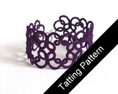 Tatting Pattern PDF - Christina Bracelet - Beginner - Instant Download