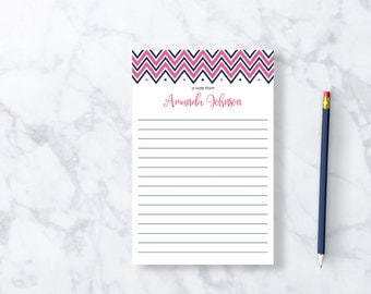 Personalized Notepad Teacher Notepad, Personalized Stationary,  College Graduation Gift for Her, Custom Stationary Personalized Note Pad