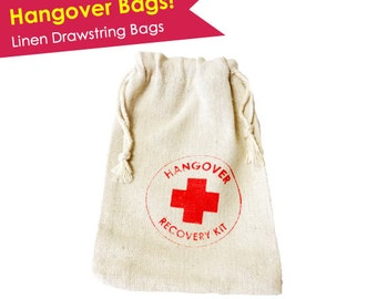 Hangover Kit Bag- Bachelorette Hangover Kit Bags- Bachelorette Party Bags- Bachelorette Party Favors- READY TO SHIP- Hangover Recovery Kit