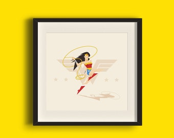 The Princess of the Amazons Art Print