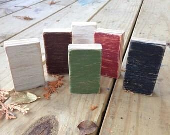 Color Chip Samples - Paint Samples - Adirondack Colors - Mountain Decor - Cabin Decor - Lake Decor - Paint Chips