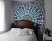 Wall Hanging Tapestry | Bohemian Mandala Queen Bedspread Large Bedding Sheet Decor Beach Throw