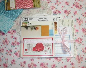 Small Item Ephemera Variety Pack - Junk Journal, Mini Album, Project Life, Pocket Letter, Scrapbook, Smash Book, Cards, Mixed Media, Collage