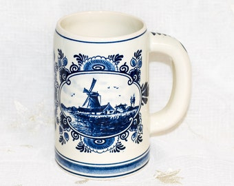 Delft Blue Holland Handpainted Mug