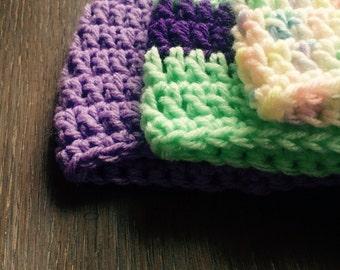 Sweet Pea Baby Hats: Set of 3