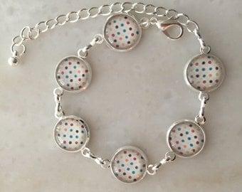 Delicate bracelet MULTI DOT