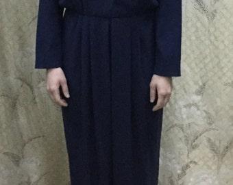 Vintage Blue Jumpsuit from Liz Claiborne, Petite Size 12