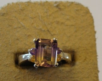 A Phenomenal Ametrine Ring from Peru