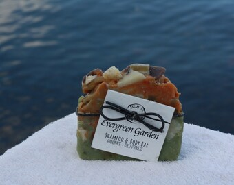 Evergreen Gardens - Handmade Bar Soap