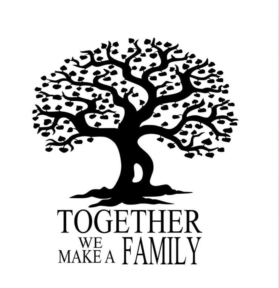 Family Tree Svg Eps Png Dxf Digital Download Files For