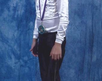 Tuxedo Shirt Boy's Figure Skating Costume