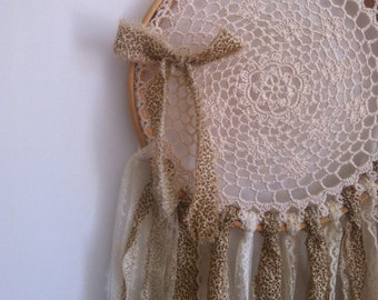 Dream Catcher, doily, wall hanging,