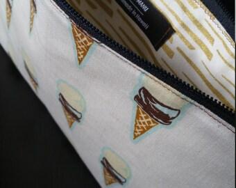 Ice Cream Wristlet
