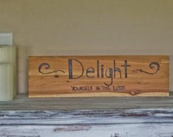 Delight Wood Plague