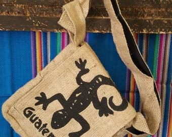 Choose Your Own Pattern-Burlap Satchel Bag