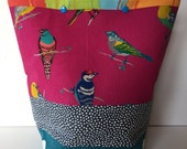 Knitting Project Bag Snap Closure Large