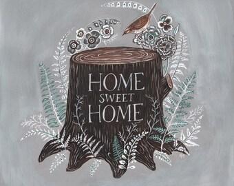 Home Sweet Home - Original Painting