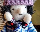 Teenage Boy Geek Plush Doll Fabric Softie