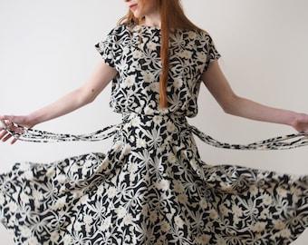 Daisy, sleeveless flower dress, Japan, xs - small