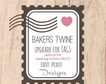 UPGRADE - Bakers TWINE String for Tags - UPGRADE Add-on to Existing orders!