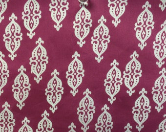 Dear Stella Raspberry SATEEN Fabric - more yardage available