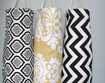 Plastic  Bag Dispenser, Reusable Bag, Plastic grocery bag holder, Recycling Bag, Plastic Dispenser