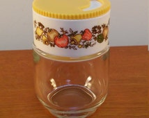 Spice of Life Shaker / Glass Spice Container / Gemco Corningware Westinghouse