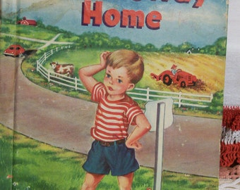 Find the Way Home Vintage Rand McNally ELF Book 1953
