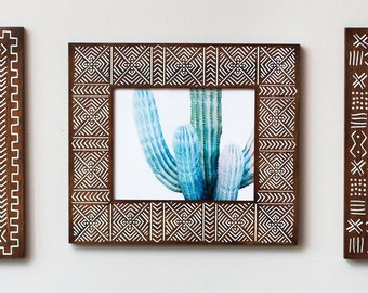 Rustic 8x10 Picture Frame | Rustic | Brown Frame