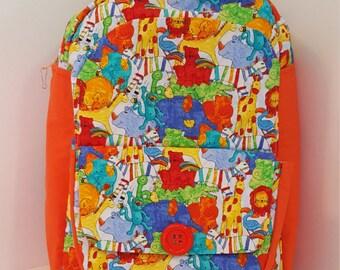 All God's Creatures Preschool Backpack