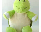 Personalised Turtle Stuffie, Baby, gift, New Baby, soft, Stuffed, Animal, Embroidered, Keepsake, Christening, Wedding, Birthday