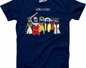 Mens Noble Gases T-Shirt funny tshirts, renaissance, middle ages, back to school, teacher shirts, science shirt, science gifts S-5XL