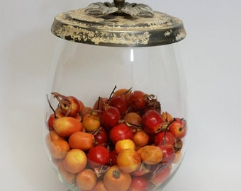 """Apothecary, Terrarium Special Occasion Custom """"Wishing Well"""" Salvaged Re-purposed Parts, One Of A Kind"""