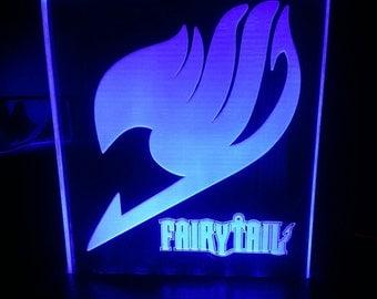Anime Fairytale Acrylic LED light sign, led display sign, led lite sign, led night light, LED sign, LED lamp
