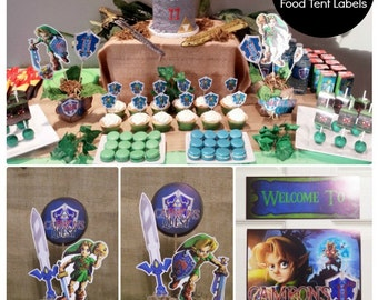 85% OFF | Zelda Birthday Party | Zelda Party Printable | Legend of Zelda | Majora's Mask | Zelda Birthday Decorations | Epic Parties by REVO