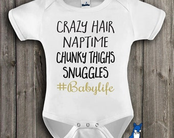 Funny Baby clothes-#babylife-Funny baby clothing-Baby Gift-Cute baby clothes-Baby bodysuit-baby shower-Baby Girl-Baby Boy-gift-298