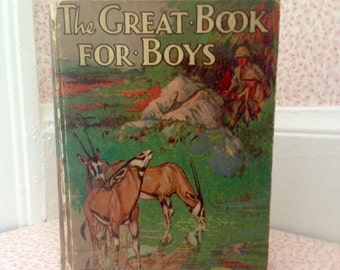 The Great Book For Boys... On the Trail