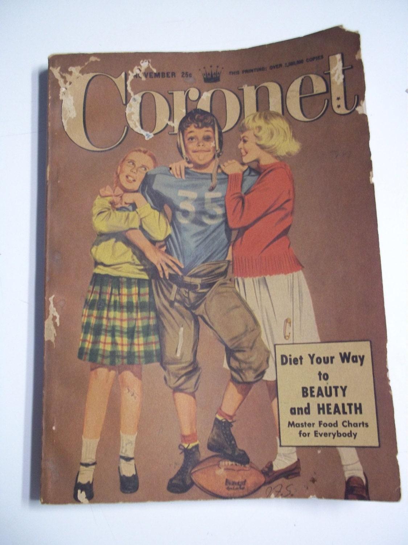 CORONET MAGAZINES 1950 - 1956 LOT OF 39