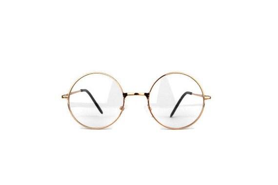 ros xl gold vintage brille rund metal rundliche von. Black Bedroom Furniture Sets. Home Design Ideas