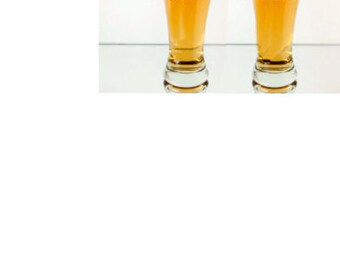 set of 6, pilsner beer glasses, bachelor party, team groom, groomsmen, usher, father of the groom,