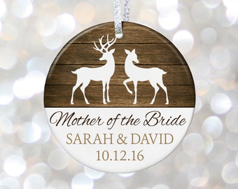 Mother Of Bride Ornament Mother Of The Bride Gift Brides Mom Wedding Gift For Mom Bridal Party Gift For Mom Wedding Present Parents of Bride