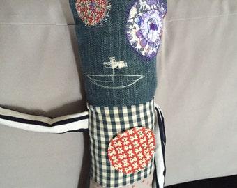 Edgarmonster doll cloth